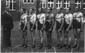 Ringermannschaft in den 30er Jahren