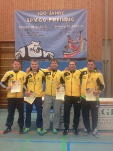 Die erfolgreichen KSK-Ringer bei den German Masters